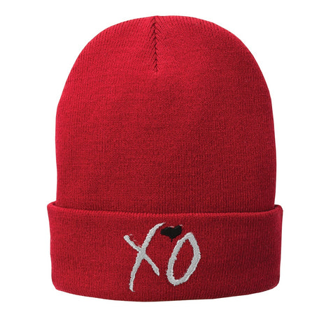 XO the weeknd Embroidered Beanie Fleece-Lined Knit Cap - SenseOfCustom - 3