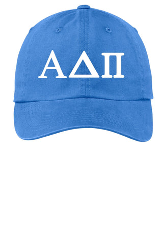 ADPi // Alpha Delta Pi // Choose Your Colors // Sorority Cap - SenseOfCustom