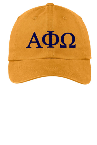 APhiO / Alpha Phi Omega /Choose Your Colors / Sorority Cap - SenseOfCustom