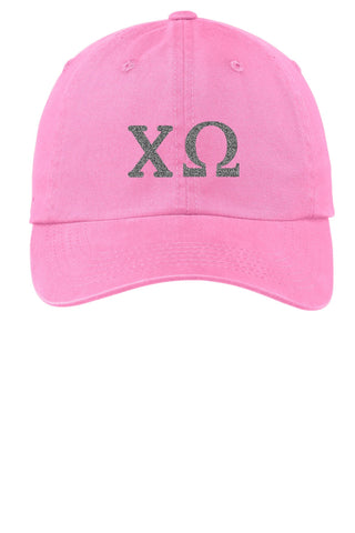 ChiO / Chi Omega / Choose Your Colors / Sorority Cap - SenseOfCustom