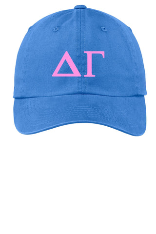 DG / Delta Gamma / Choose Your Colors / Sorority Cap - SenseOfCustom
