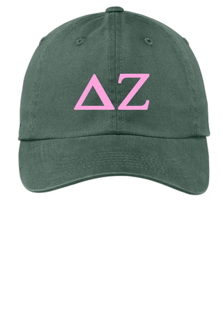 DZ / Delta Zeta / Choose Your Colors / Sorority Cap - SenseOfCustom