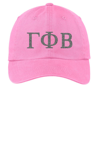 GPB / Gamma Phi Beta / Choose Your Colors / Sorority Cap - SenseOfCustom