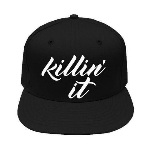 Killin It Snapback Cap - SenseOfCustom - 1