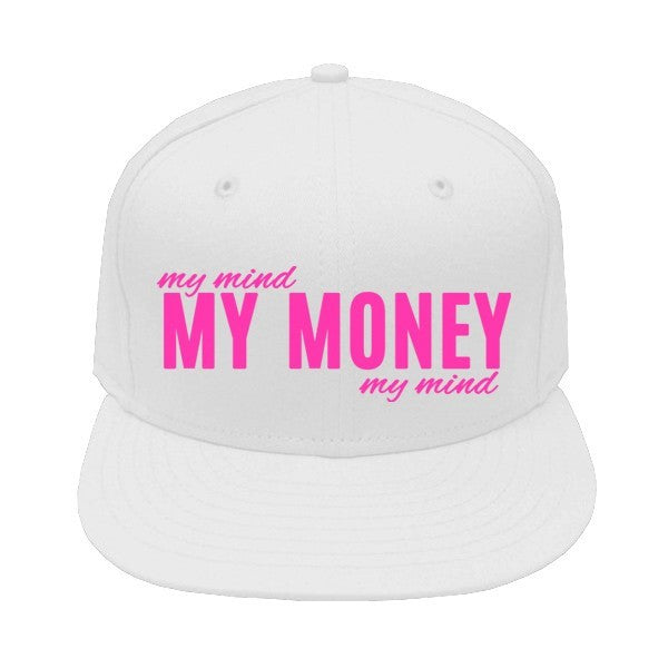 Mind on My Money Snapback Cap - SenseOfCustom - 1