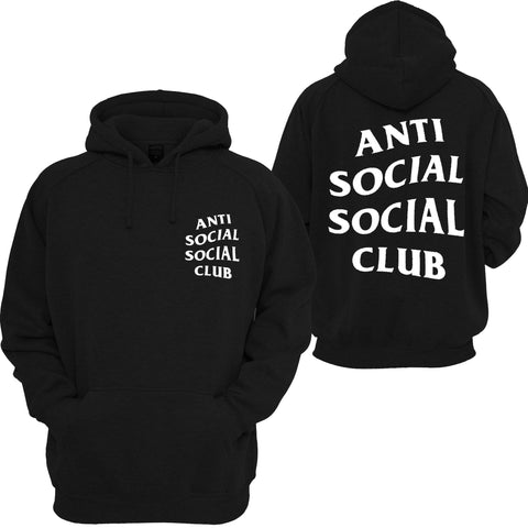 Anti Social Social Club Mind Games Hooded Sweatshirt - SenseOfCustom