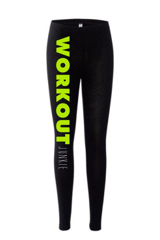 Workout Junkie Leggings - SenseOfCustom - 1