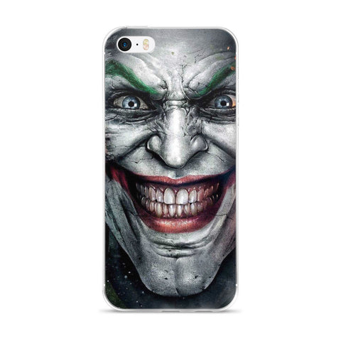 Joker Face iPhone 5/5s/Se, 6/6s, 6/6s Plus Case