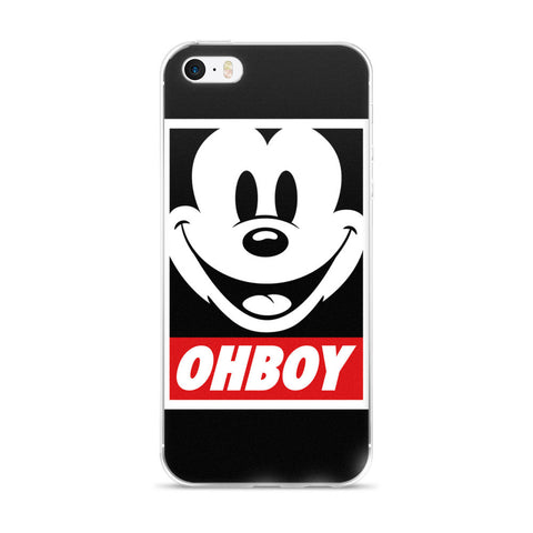 Ohboy Mickey Mouse iPhone 5/5s/Se, 6/6s, 6/6s Plus Case