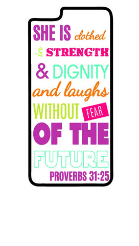 Biblical Proverb  iPhone 7 iPhone 7 Plus iPhone 6 iPhone 6 Plus Case - SenseOfCustom