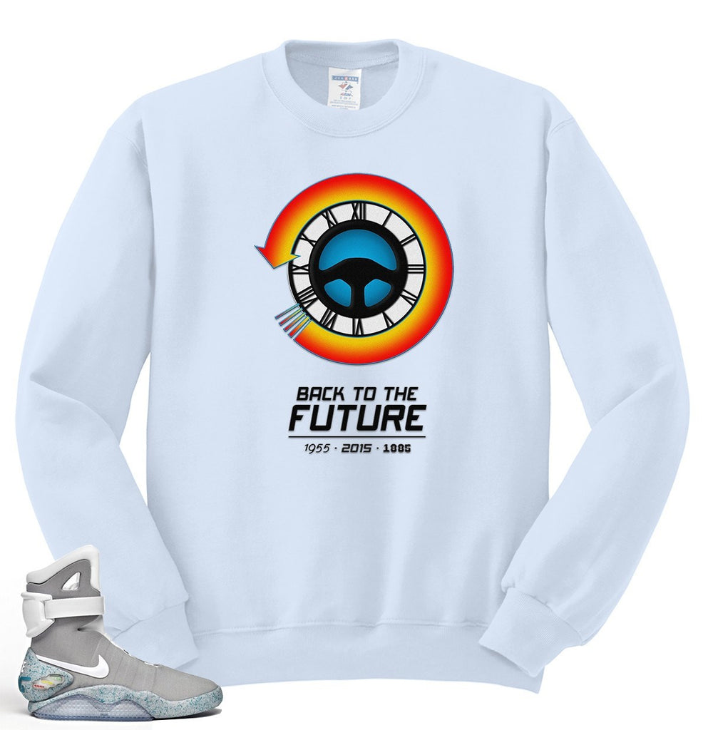 Back To The Future Crewneck Sweatshirt S-4XL - SenseOfCustom