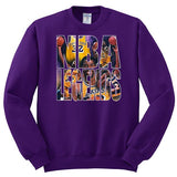 NBA Legends Magic Johnson Edition Crewneck Sweatshirt - SenseOfCustom - 1