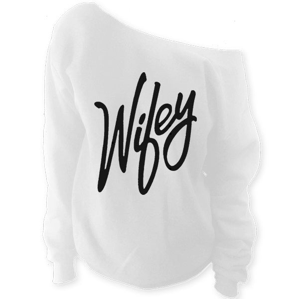 Wifey Off The Shoulder Slouchy Sweatshirt - SenseOfCustom - 8