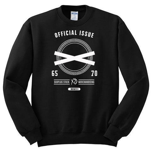 XO Official Issue The Weeknd Crewneck Sweatshirt - SenseOfCustom - 1