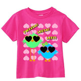 Tweeta Leeta Leet Toddler Short-Sleeve T-Shirt - SenseOfCustom - 2