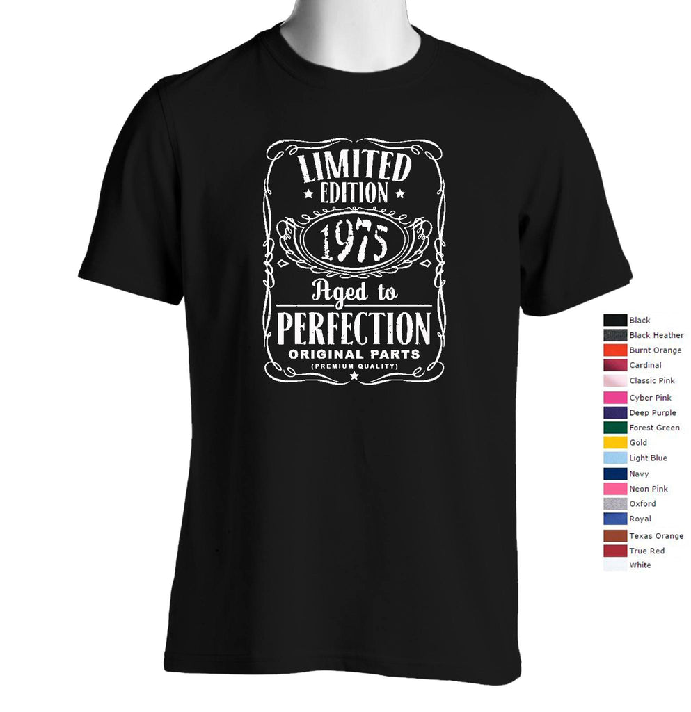 Vintage Aged To Perfection 1975 T-Shirt (We Can Customize Year to Whatever You Need) - SenseOfCustom