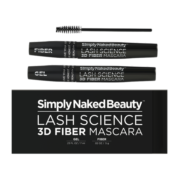 Lash Science - 3D Fiber Lash Mascara (Black)