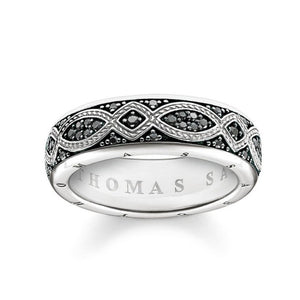 Thomas Sabo Jewellery Love Knot Ring TR2087B