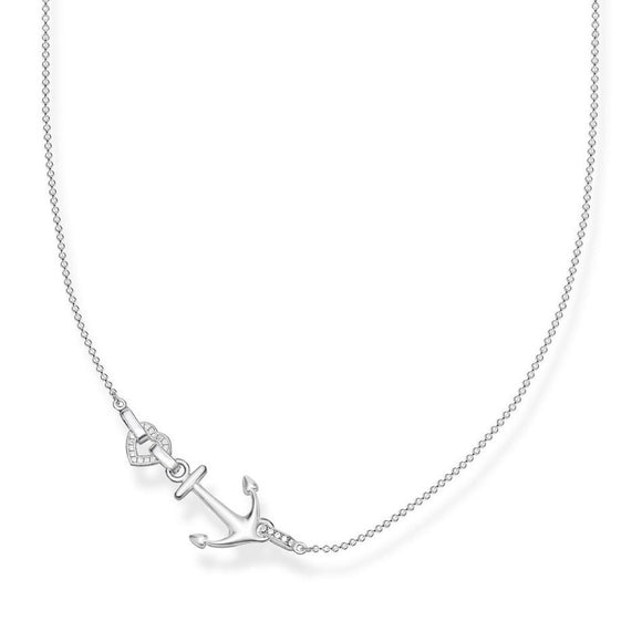 "Thomas Sabo Jewellery Necklace ""ANCHOR WITH HEART"" TKE1851"