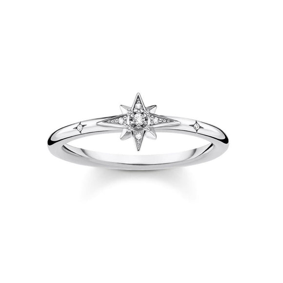 Thomas Sabo Charming Ring Star Silver TR2317