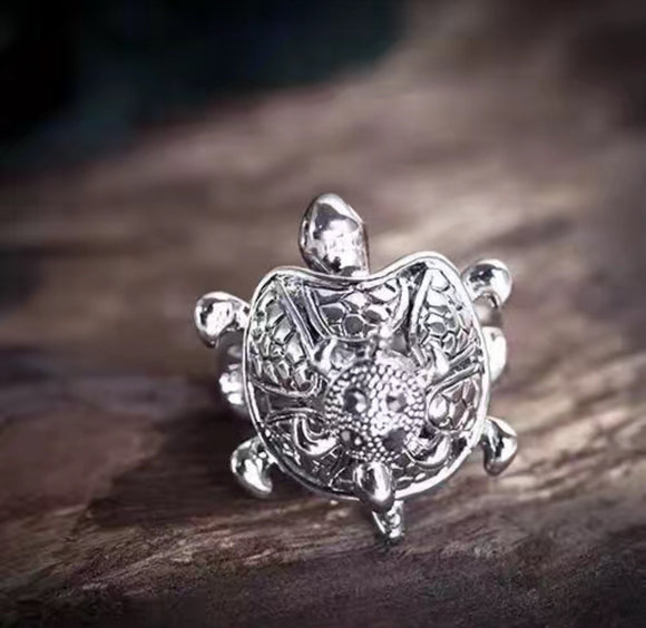 7-Degrees Exclusive Design Fashion Ring Turtle