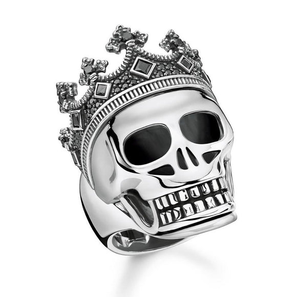 Thomas Sabo Jewellery Ring Skull Crown TR2207 (50-58)