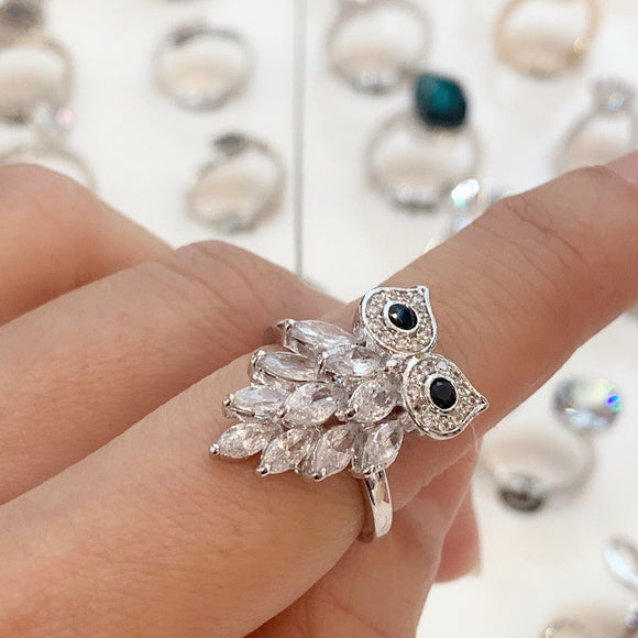 7-Degrees Exclusive Design Fashion Ring Owl