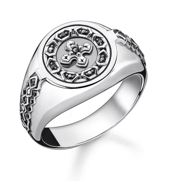 Thomas Sabo Jewellery Ring Cross (50-58) TR2037-50
