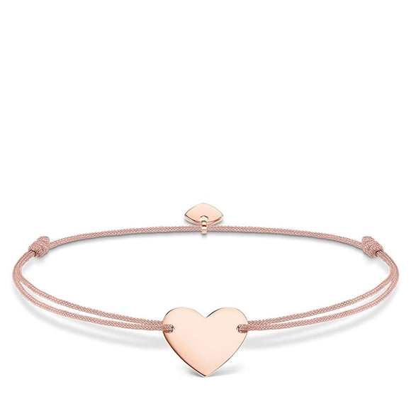 Thomas Sabo Little Secrets Heart Rose Gold Bracelet LS005