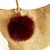 7-Degrees Accessories Pompom Bag Charm and Keyrings