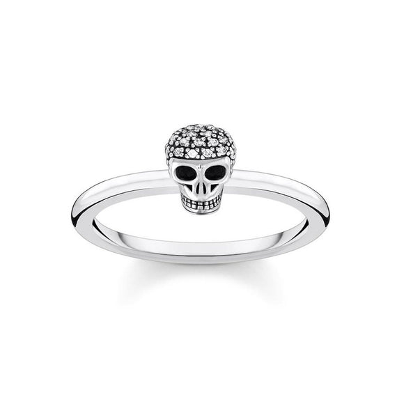 Thomas Sabo Charming Ring Skull TR2327