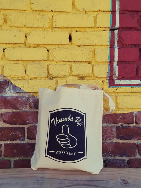 Thumbs Up Industrial Logo Tote