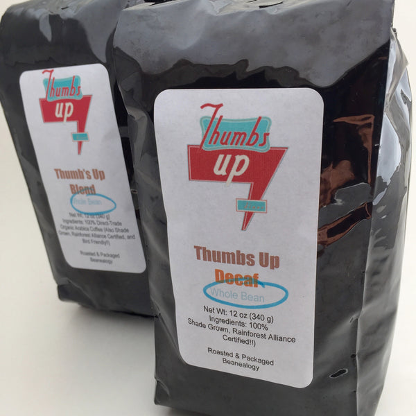 Thumbs Up Blend Whole Bean Coffee