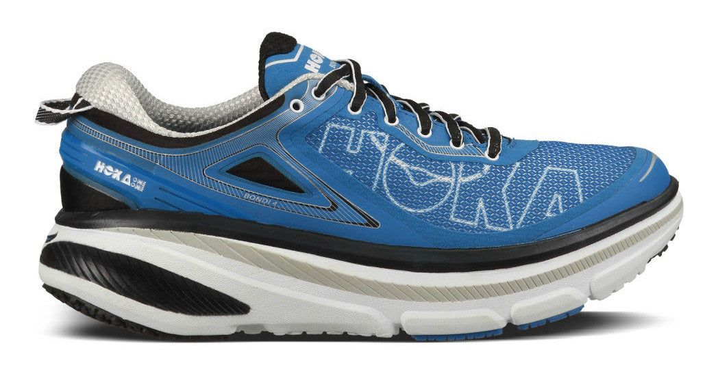 Hoka One One Men's Bondi 4 - Directoire Blue/White
