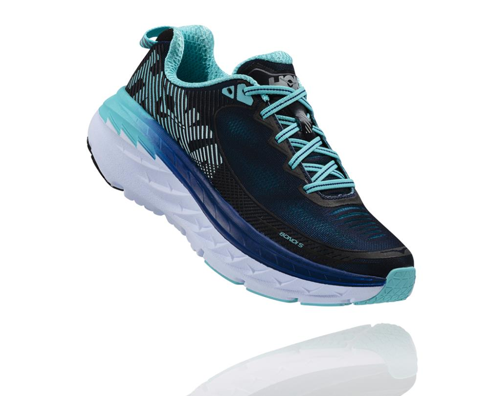 Women's Bondi 5 Wide - HOKA ONE ONE New Zealand