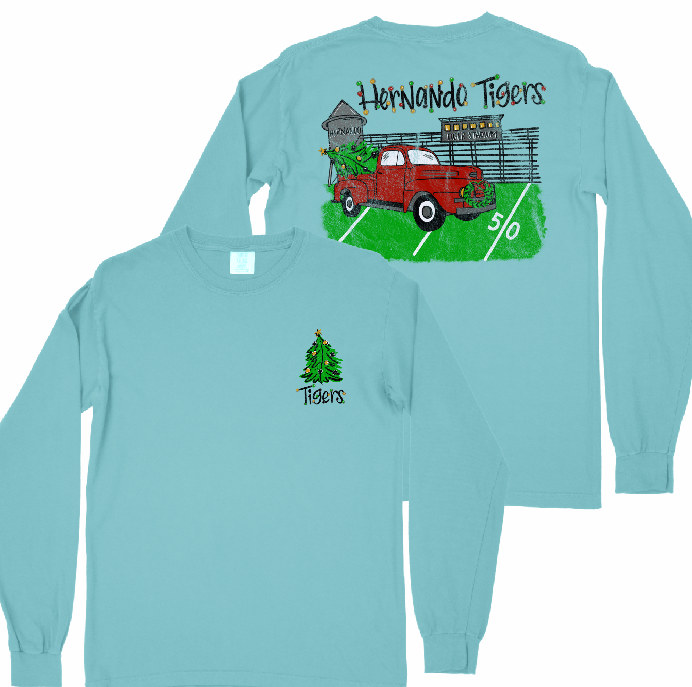 Hernando Tigers Holiday Fundraiser Comfort Color L/S