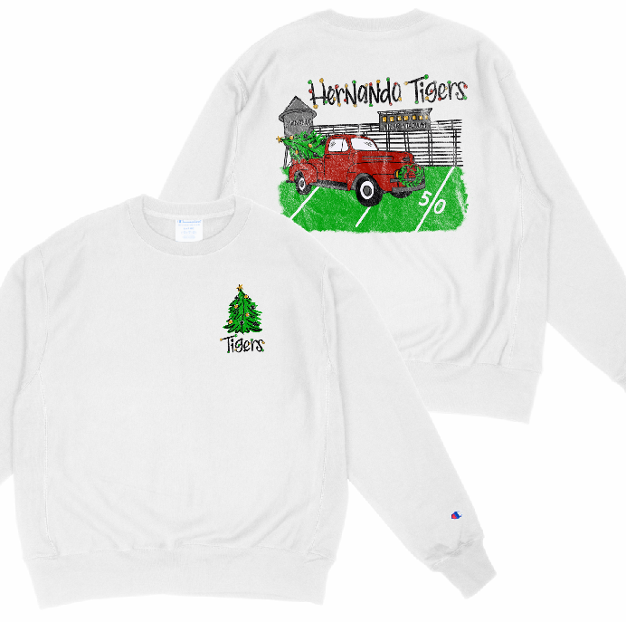 Hernando Tigers Holiday Fundraiser Sweatshirt