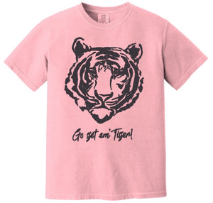 Go Get Em' TIger! Shirts - BLACK INK
