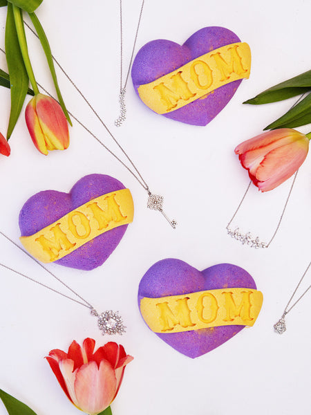Mom Bath Bomb - Classic Necklace Collection
