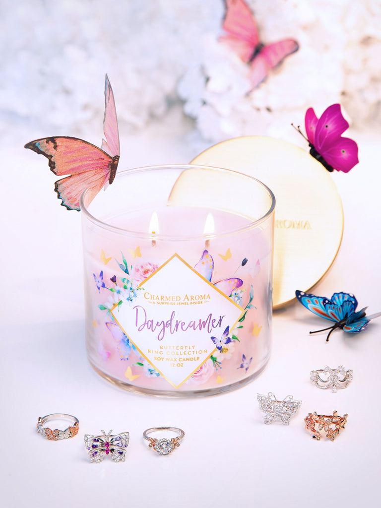 Daydreamer Candle - Butterfly Ring Collection