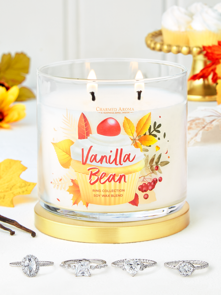 Vanilla Bean Candle - Ring Collection