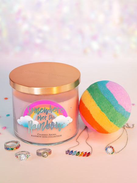 Rainbow Gift Set - Rainbow Ring & Bracelet Collection