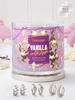 Vanilla Milkshake Candle - 925 Sterling Silver Ear Cuff Collection
