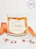 Citrine Birthstone Candle - Jewelry Collection Made With Crystals From Swarovski®