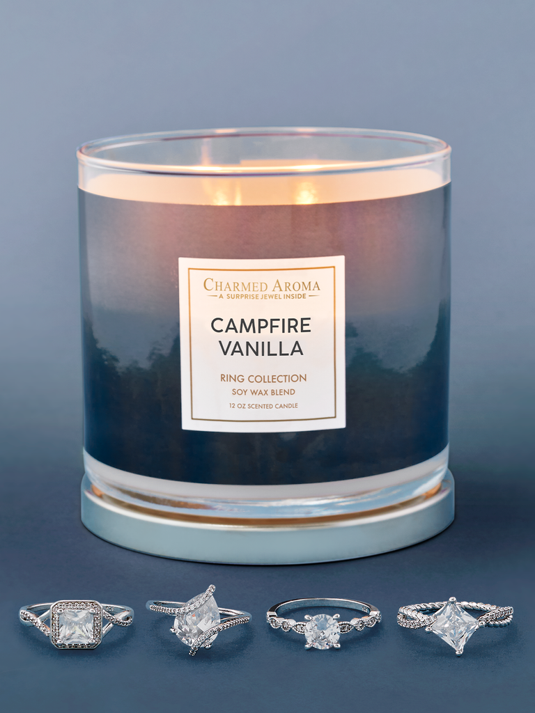 Campfire Vanilla Candle - Ring Collection