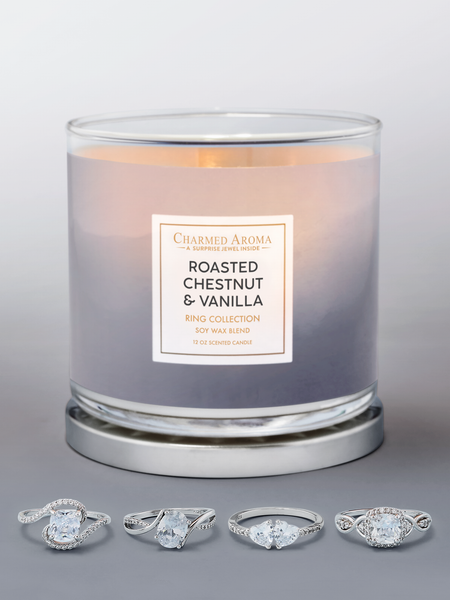 Roasted Chestnut & Vanilla Candle - Ring Collection