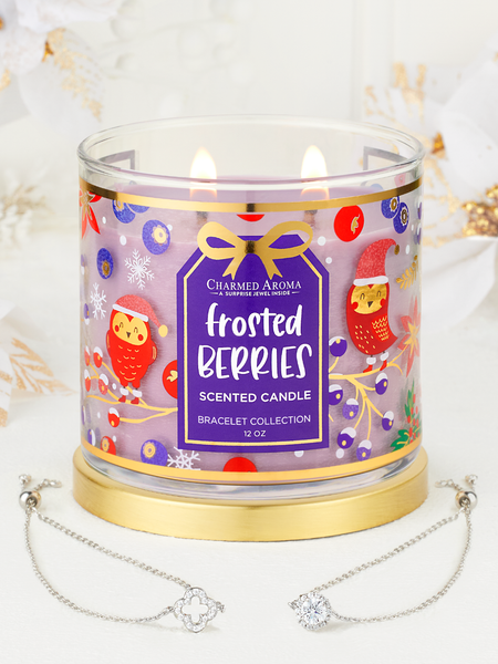 Frosted Berries Candle - Bracelet Collection