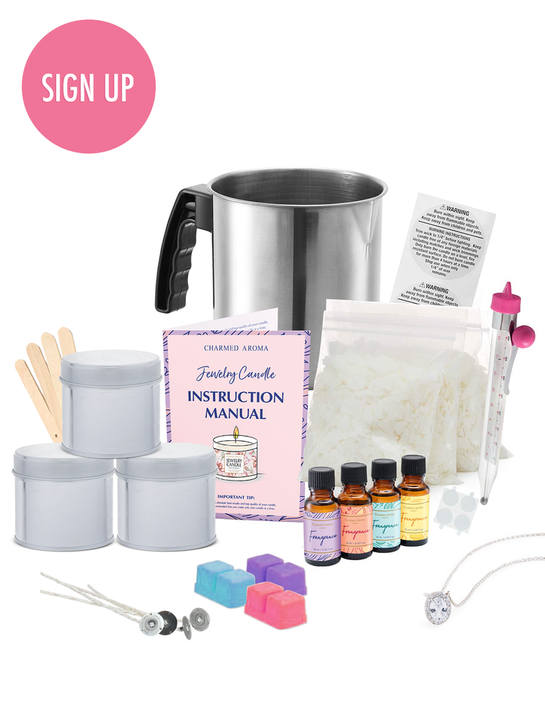 DIY Jewelry Candle Kit
