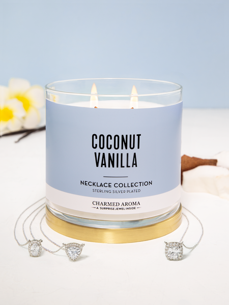 Coconut Vanilla Candle - Necklace Collection