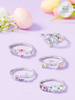 Cotton Tail Bunny Candle - Pastel Ring Collection